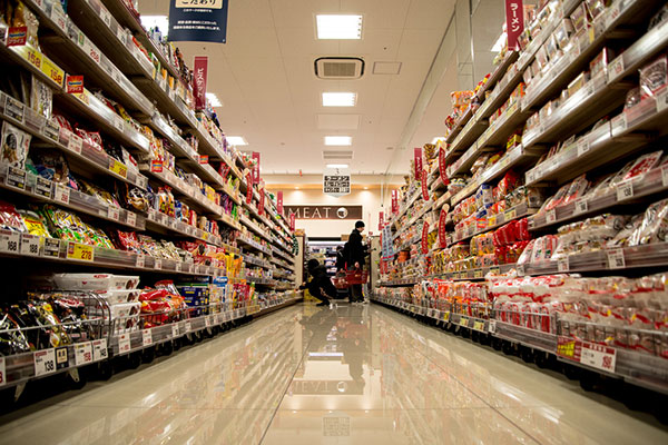 Product portfolio analysis grocery retail